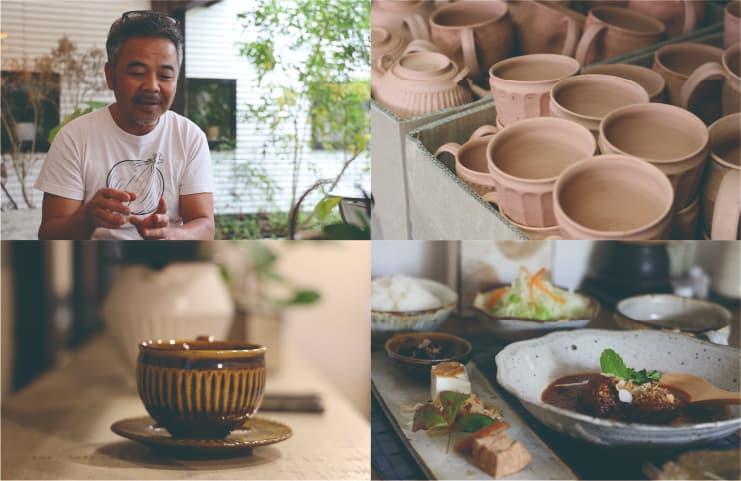 陶芸のまち、天草で愛される器とお料理山の口焼/山の口食堂 辻口さん