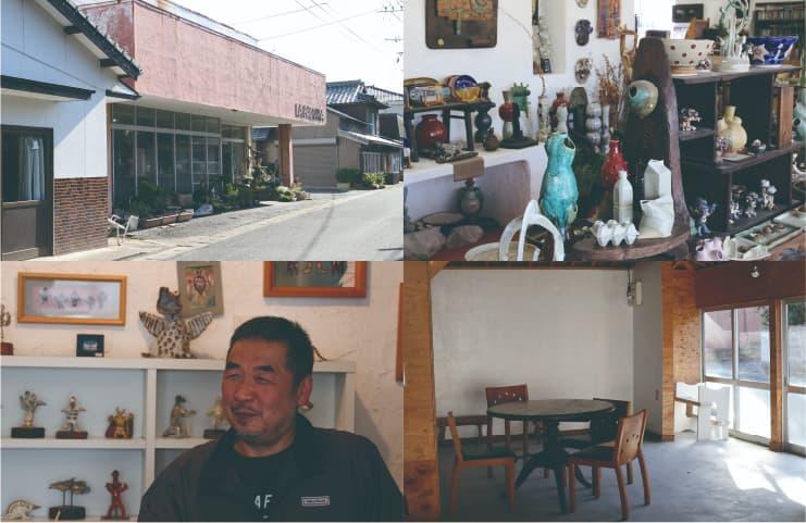 アートのまち、国東のさきがけ「ギャラリー ラパロマ」中野さん